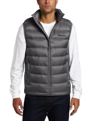 Marmot Men's Zeus Insulated Down Vest - Cinder, Medium