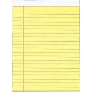 Amazon.com : Legal Pad PKG : Legal Ruled Writing Pads