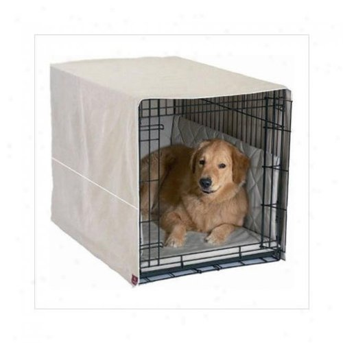 "Classic Cratewear 3 Piece Crate Dog Bedding Set Size: Small: 18"" W X 24"" D, Color: Khaki front-885792"