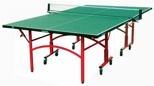 Butterfly Easifold Outdoor Table Tennis Table - Green/Silver, 275 X 153 X 77 Cm