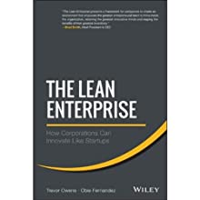 The Lean Enterprise: How Corporations Can Innovate Like Startups (       UNABRIDGED) by Trevor Owens, Obie Fernandez Narrated by Steve Carlson