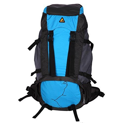 Outdoor épaule sac à dos / sac multifonction de grande capacité sac à dos / épaule alpinisme-bleu 60L