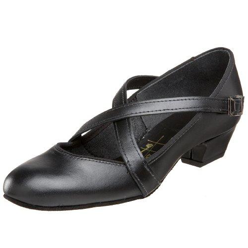 Tic-Tac-Toes Women's Grace Cross-Strap Dance Shoe,Black,9 M US (Organ Shoes compare prices)