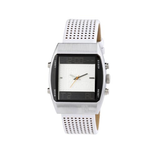 Henleys Clothing White Analogue-Digital Watch