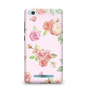 Amez designer printed 3d premium high quality back case cover for Xiaomi Mi4i (vintage floral )