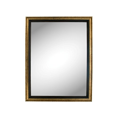 Kole Imports Bronze Trim Wall Mirror, 1.54 Pound