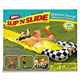 Slip d Slide:Slip 'N slip Obstacle Course