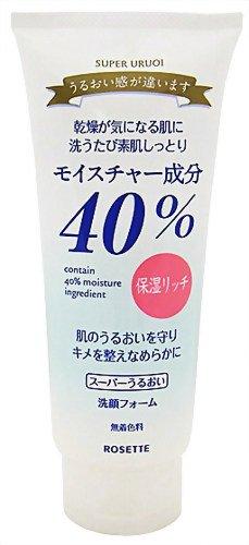 40%スーパーうるおい 洗顔フォーム 168g