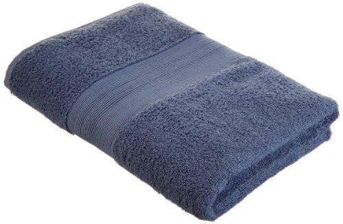 Pinzon 550-Gram Turkish Cotton Bath Towel, Indigo front-1031576