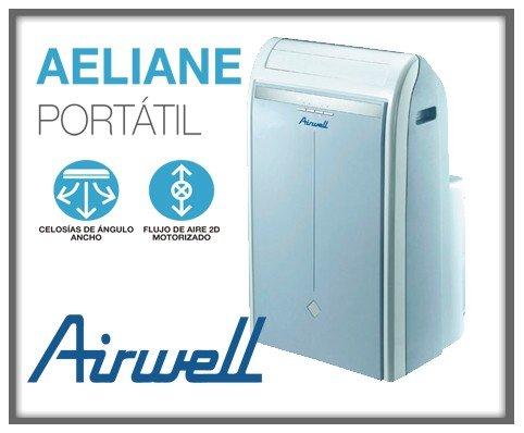 Equipo de aire acondicionado modelo 2013 con bomba fr�o/calor, bajo nivel sonoro. Equipo inverter. Calidad/precio excepcional. Airwell Portable