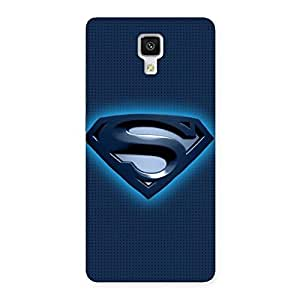 Enticing uper Blue Back Case Cover for Xiaomi Mi 4