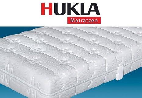 Hukla Magic Clean 7-Zonen-Tonnen-Taschenfederkern-Matratze mit Kaltschaum-Noppenprofil, Größen Matratzen:80 x 190 cm;Härtegrad Matratzen:F2