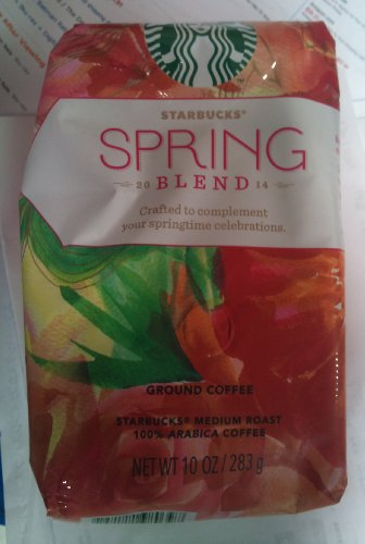 Starbucks 2014 Spring Blend Coffee, Ground, 10 Oz. Bag front-588620