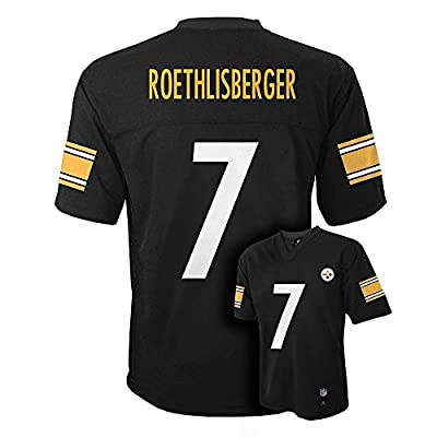 Ben Roethlisberger Pittsburgh Steelers Black NFL Toddler Mid-tier Jersey