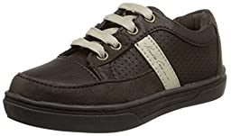 Kenneth Cole REACTION First Down T Sneaker (Toddler/Little Kid), Brown, 8 M US Toddler