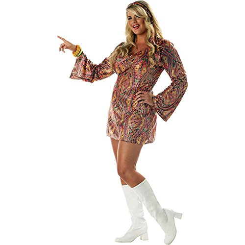 Disco Dolly Plus Size Costume