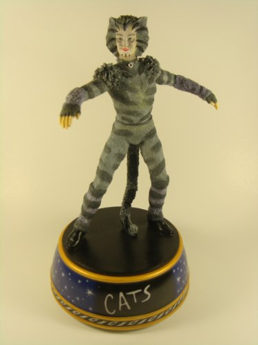 Cats Music Munkstrap Figurine Box Memory San Francisco