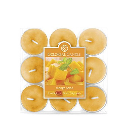 Colonial Candle - Mango Salsa Tealights-2 per case (Colonial Candle Mango Salsa compare prices)