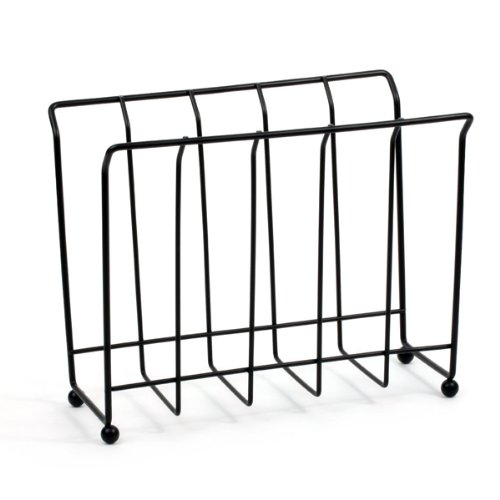Spectrum Diversified 37810 Magazine/Newspaper Rack, Black