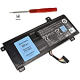 Shareway 6-Cell Replacemnet Laptop Battery for Dell Alienware 14 A14 M14X R3 R4 14D-1528 ALW14D-5728 ALW14D-5528 G05YJ 0G05YJ [11.1V 69Wh] - 12 Months Warranty! (Color: balck, Tamaño: 6 Cell)