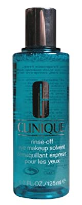 Clinique Rinse Off Eye Make Up Solvent for Unisex, 4.2 Ounce