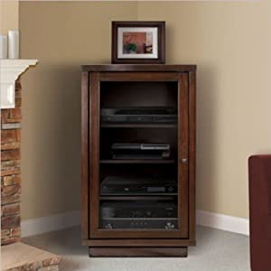 bello atc402 audio video component cabinet electronics. Black Bedroom Furniture Sets. Home Design Ideas
