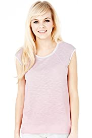 Angel Ombre Print Slub T-shirt