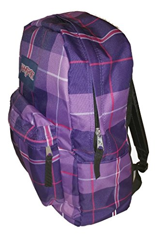 jansport classic superbreak backpack electric purple silk
