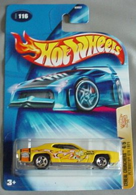 Hot Wheels 2004 Plymouth GTX 1971 Cereal Crunchers 4/5 #116 Honey Nut Cheerios