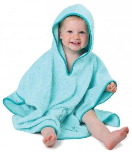 Snuggledry SPF 50+ UV Poncho Towel, Blue - 1