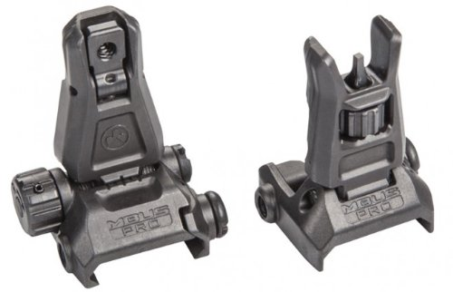 Find Bargain Magpul MBUS PRO Steel Sight Set MAG275 & MAG276 BLACK