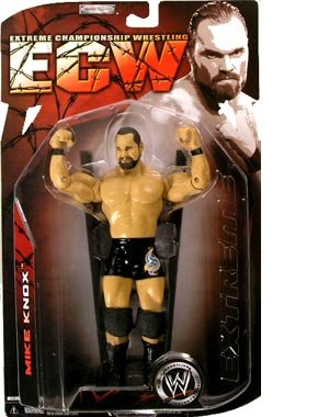 Picture of Jakks Pacific W ECW Series 2 Action Figure: Mike Knox (B0014F4YIE) (Jakks Pacific Action Figures)