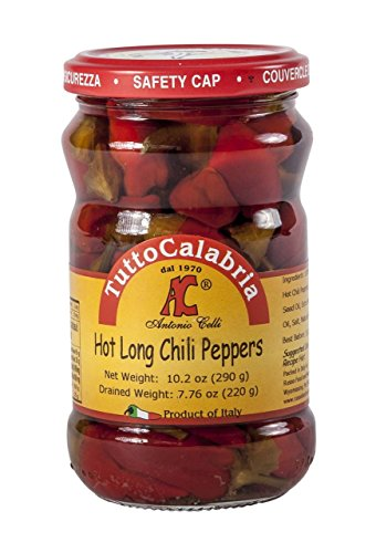 Tutto Calabria Hot Long Chili Peppers (Calabrian Chilies compare prices)