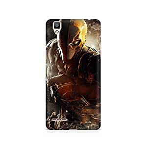 Ebby Deathstroke Premium Printed Case For Oppo F1 plus