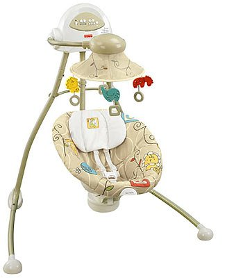 Fisher-Price Cradle Swing - Animal Krackers
