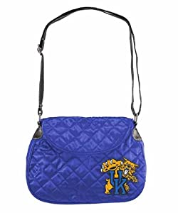 NCAA Kentucky Wildcats Quilted Saddlebag, Blue by Littlearth