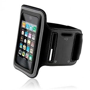 Fonus Premium Workout Running Sports Armband Neoprene Gym Case for Samsung GALAXY Note II N7100, US Cellular Samsung GALAXY Note2 SCH-R950, Verizon Samsung GALAXY Note 2 SCH-I605