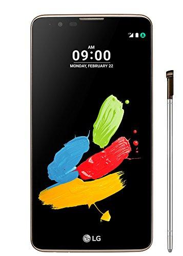 "LG Stylus 2 Smartphone, Display IPS 5.7"" HD, 4G LTE, Fotocamera 13MP con frontale 8MP, Memoria interna 16 GB, 1.5 GB RAM, Marrone [Italia]"
