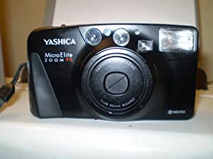 Yashica Micro Elite Zoom 90 35mm Camera QD
