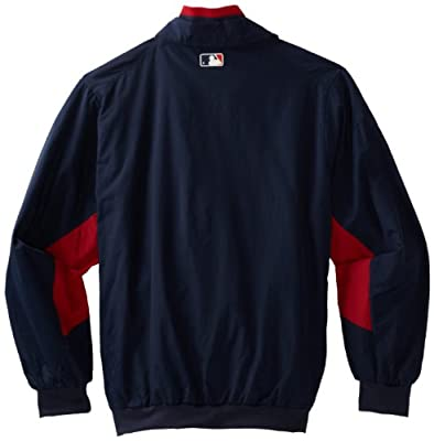 MLB Minnesota Twins Triple Peak Premier Jacket, Navy/Red