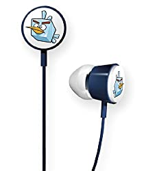 Gear4 HAB011 G Angry Birds Space Tweeters Earphones for Ipod and IPhone (Ice)