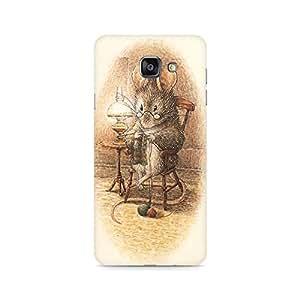 Mobicture Pattern Premium Designer Mobile Back Case Cover For Samsung A710 2016 Version