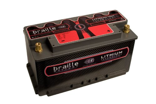 Braille Battery i49CS Intensity 12V 'Group 49' Carbon Lithium Battery
