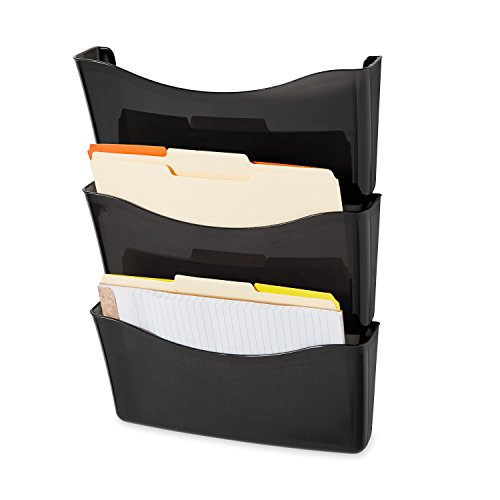 rubbermaid-unbreakable-expandable-three-pocket-wall-file-set-smoke-65974