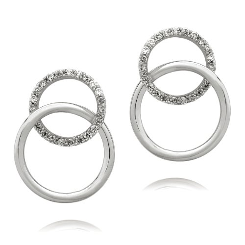 Rafaela Donata Glamour Collection Damen-Ohrstecker 925 Sterling Silber Zirkonia weiß  60832008