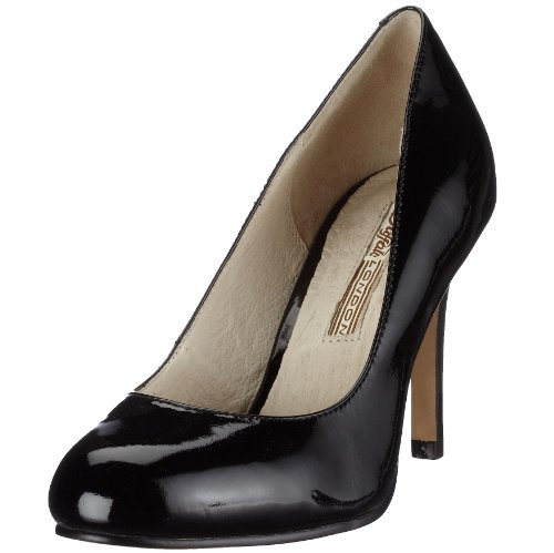 Buffalo London 107-2984 PATENT 91826, Scarpe eleganti donna - Nero, 40 EU