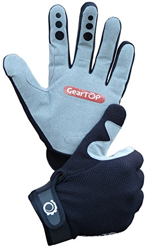 Mountain Bike Gloves- Great for Cycling, Performance Specialized Dirt Biking Glove for Women and Men (Medium)
