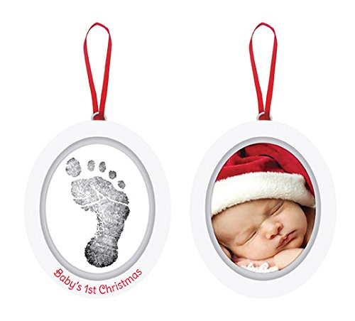 Pearhead Babyprints Photo Ornament - 1