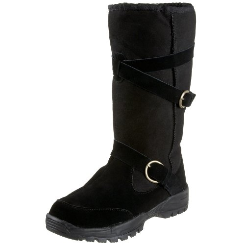 Aussie Dogs Women's Rena Tall Boot,Black,7/8 M US