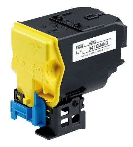 Konica-Minolta A0X5250 Cartouche toner, couleur jaune, capacité 6 000 pages, pour imprimante mc ...